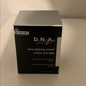 NEW! Dr. Brandt time defying cream